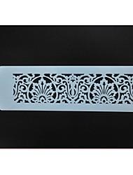 bolo de plástico bolo stencil decoração fornece st-344