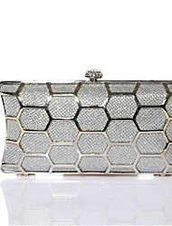 cheap -Women's Bags PU Evening Bag for Event / Party Silver / Light Brown / Light gray