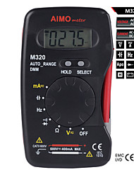 Aimometer M320 4000 Counts Autorange  Slim Shape All In One Designed  Digital Multimeter W/Capacitance  and Hz