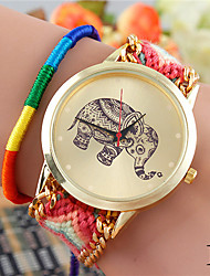 Недорогие -COO женщин кварца случайные часы (разных цветов)