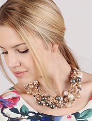 Cute/Party/Work/Casual Alloy/Cubic Zirconia/Imitation Pearl Statement
