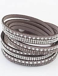 cheap -Alloy/Rhinestone Bracelet Wrap Bracelets Daily 1pc