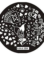 1 - 6*6*0.1 - Абстракция/Милый/Панк/Свадьба - Металл - Пальцы рук/Пальцы ног/Прочее