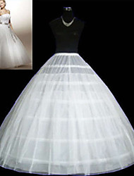 cheap -Wedding Special Occasion Slips Tulle Netting Floor-length Ball Gown Slip With