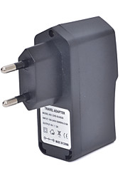 cheap -CHD-SU0520 Universal 5V 2A USB AC Power Charger Adapter - Black (100~240V / EU Plug)