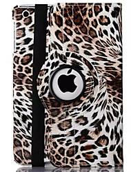 леопардовый пу кожи 360⁰ случаи / смарт-крышки Ipad 2 / Ipad 3/4 Скины