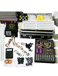 professionelle Tattoo-Kits mit 3 Tattoo-Maschinen