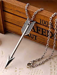 cheap -Men's Wings / Feather Heart Love Pendant Necklace Alloy Pendant Necklace , Daily Casual