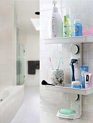 baratos -prateleira do banheiro poderoso sucção saboneteira