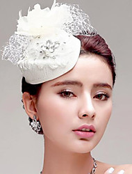 European Style Feather/Rhinestone/Net Wedding/Party Headpiece/Flowers/Hats
