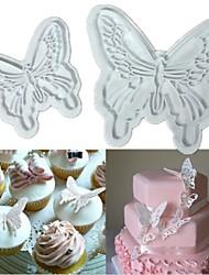 povoljno -2pcs leptir torta keks rezač klip sugarcraft uređenje Fondant plijesni
