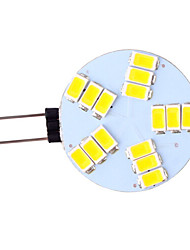 3W G4 LED Bi-pin Lights 15 SMD 5730 350 lm Warm White Cold White 2800-3500/6000-6500 K AC 12 V