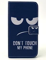 economico -Custodia Per Samsung Galaxy Samsung Galaxy Custodia A portafoglio / Porta-carte di credito / Con supporto Integrale Con onde pelle sintetica per S6 / S5 Mini / S5