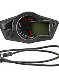 economico -lcd contachilometri tachimetro digitale contagiri moto con retroilluminazione