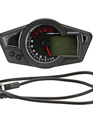 Недорогие -ЖК-цифровой одометр спидометр тахометр мотоцикл с подсветкой