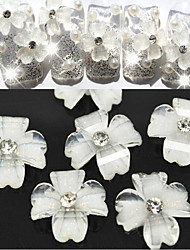 cheap -10 Nail Jewelry Flower Classic Wedding Daily Flower Classic Wedding High Quality
