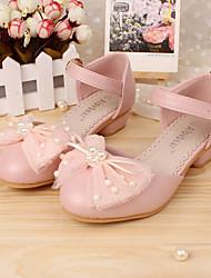 Djevojčice Cipele Koža Proljeće Jesen Udobne cipele Sandale Niska potpetica Mašnica za Vjenčanje Kauzalni Formalne prilike Zabava i večer