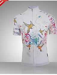 levne -GETMOVING Dámské Krátký rukáv Cyklodres Jezdit na kole Dres, Rychleschnoucí, Anatomický design, Prodyšné