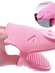 Симпатичные Свинья микроволновая печь рукавицы кухня изоляцией перчатки держатель горшок удобные инструменты горячий (Random Color)