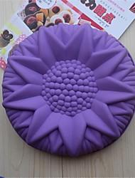 povoljno -bakeware silikon suncokret pečenje kalupi za čokoladni kolač mliječi (Random boja)