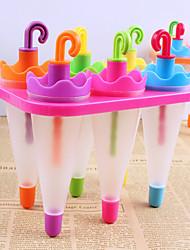 hesapli -şeker renk diy buzlu şeker şemsiye kalıp (6 adet kümesi)