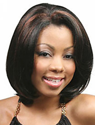 Short Synthetic Wigs Curly Wig For African American Short Bob Hair Wig