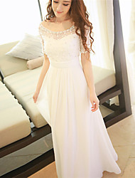 cheap -Women's Classic & Timeless A Line Dress - Solid Color, Pure Color