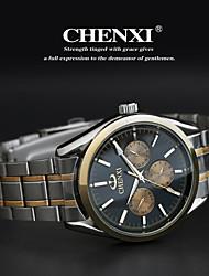 CHENXI® Pánské Náramkové hodinky Křemenný Japonské Quartz Nerez Kapela Stříbro