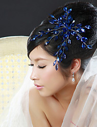 cheap -Women Alloy Flowers With Rhinestone Wedding/Party Headpiece(More Colors)
