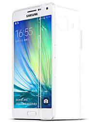 billige -DE JI Etui Til Samsung Galaxy Samsung Galaxy Etui Gjennomsiktig Bakdeksel Ensfarget TPU til A9(2016) / A7(2016) / A5(2016)