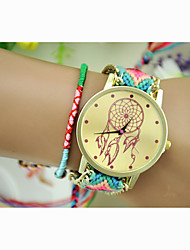 cheap -Fashion Women's Dreamcatcher National Weaving South Korea Style Chain DIY Watch Cool Watches Unique Watches