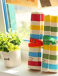 economico -colorata biancheria banda sacchetto della matita tre legno (colore casuale)