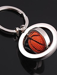 cheap -Unisex Alloy Casual Keychain Fashion Revolve Basketball Key Chains