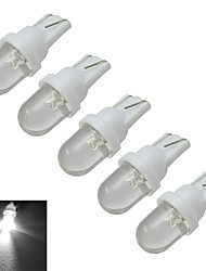 abordables -0.5W T10 Lampe de Décoration 1 diodes électroluminescentes Blanc Froid 30lm 6000-6500K DC 12V