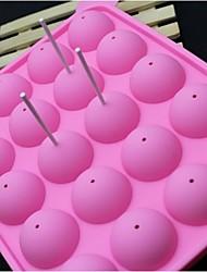 silicone de mode sucette glacée bonbons de chocolat modélisation façonner la décoration de gâteaux outils de cuisine de cuisson (couleur
