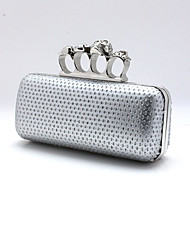 cheap -Women Bags Patent Leather Other Leather Type Evening Bag for Event/Party Formal All Seasons Gold Silver