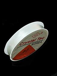 beadia 0,7 milímetros beading elástico esticar cordão de cristal pulseira colar de arame& enrosque resultados DIY 5 rolos (apx 10m /