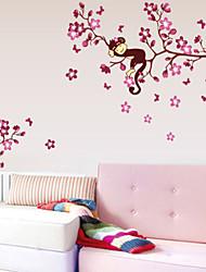 Animais / Botânico / Desenho Animado Wall Stickers Autocolantes de Aviões para Parede Autocolantes de Parede Decorativos,PVC Material