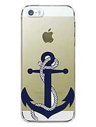 abordables -Funda Para Apple Funda iPhone 5 iPhone 6 iPhone 6 Plus iPhone 7 Plus iPhone 7 Diseños Funda Trasera Ancla Dura TPU para iPhone 7 Plus