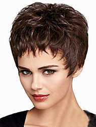 cheap -Europe And The United States  Sell Like Hot  Cakes   Black Short Wig Personality