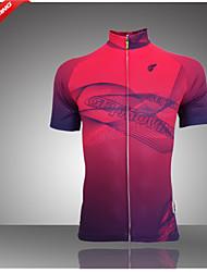 GETMOVING Camisa para Ciclismo Mulheres Manga Curta Moto Camisa/Roupas Para Esporte Blusas Permeável á Humidade Respirável Bolso Traseiro