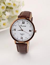 billige -personalisering mænds mode armbånd ur med kasse