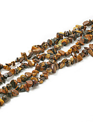 "cheap -Beadia Tiger Eye Stone Beads 5-8mm Irregular Shape DIY Loose Beads Fit Necklace Bracelet Jewelry 34""/Str"