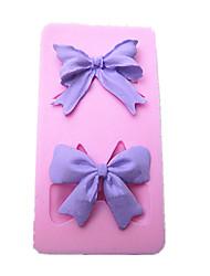Недорогие -бантом торт формы силиконовые выпечки инструменты кухонные принадлежности украшения для тортов помадки конфет