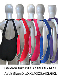 cheap -Cotton/Lycra Low Back with a Clasp Closure Tank Leotards More Colors for Girls and Ladies