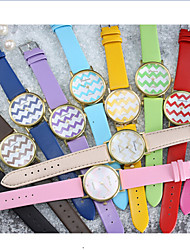 cheap -Geneva/ Women's In the Wavy Leisure Quartz Watch Style  (Assorted Colors) Cool Watches Unique Watches