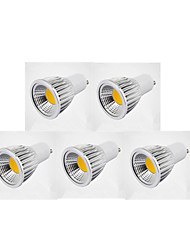 cheap -7W 300 lm GU10 LED Spotlight MR16 1 leds COB Warm White Cold White Natural White AC 220-240V AC 85-265V