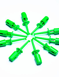 cheap -DIY Electronic Test Probe Tip - Green (10-Piece Pack)