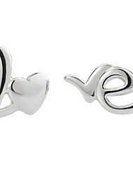 cheap -Women's Stud Earrings - Sterling Silver, Silver Silver For Wedding / Party / Daily