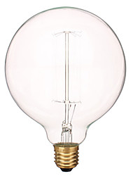 40W 480LM 3000k Warm White The ball bubble tungsten filament lamp(AV220V-240V)